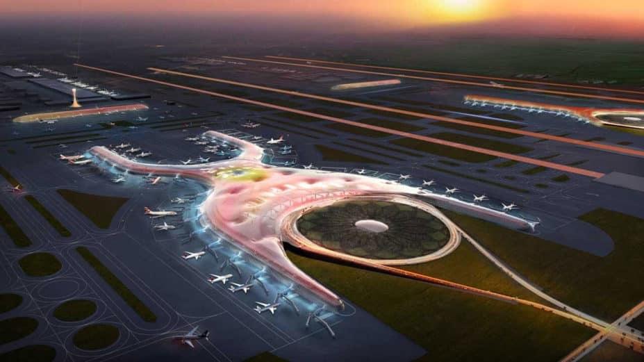Nuevo aeropuerto Ciudad de México BIM